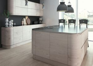 Malton Hemlock Nordic Handleless Kitchen