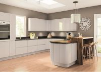 Lacarre Grey Gloss Handleless Kitchen